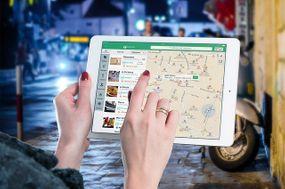 Location on iPad