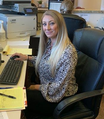 Office Manager Kayla Bingham
